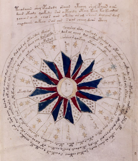 Art that is not realism, cartoon, or anime (Voynich manuscript)