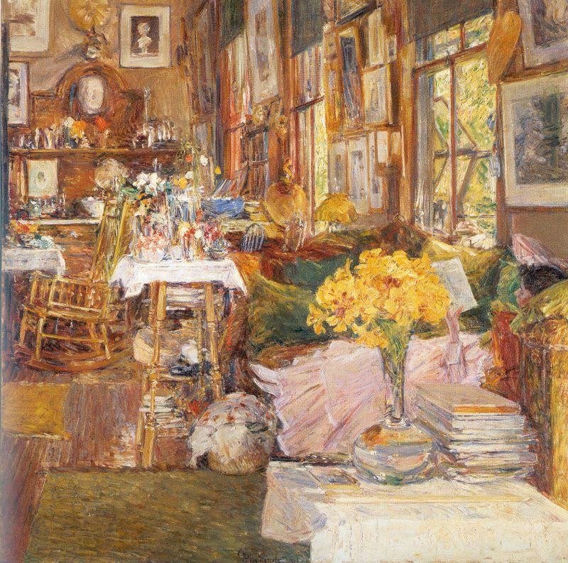Комната с цветами картинки 7