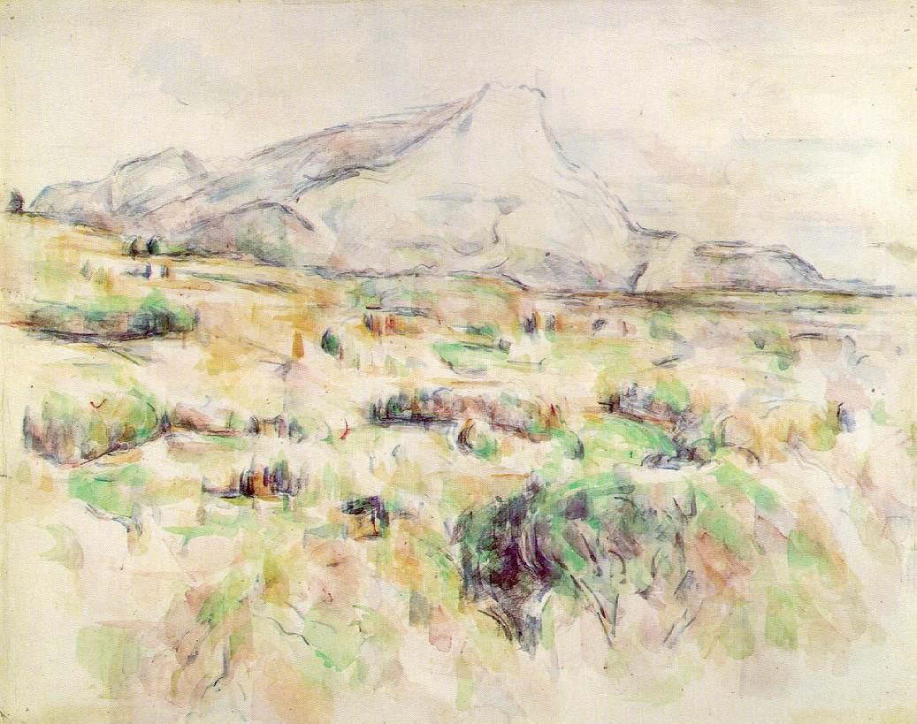 Webmuseum CИzanne Paul Le Mont Sainte Victoire