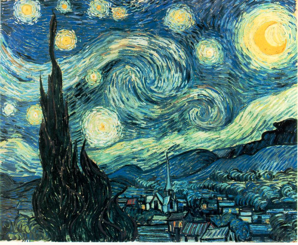 Webmuseum Gogh Vincent Van The Starry Night