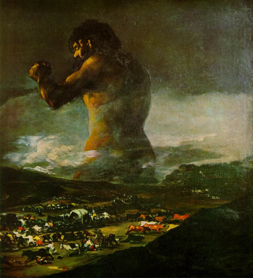O Colosso - Goya