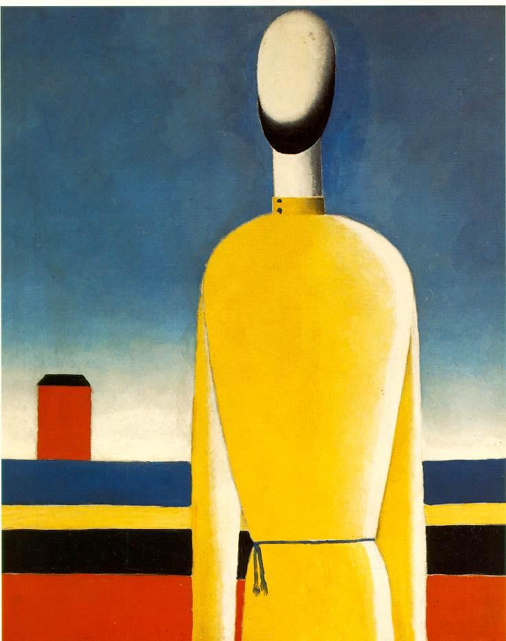 马列维奇抽象画作品