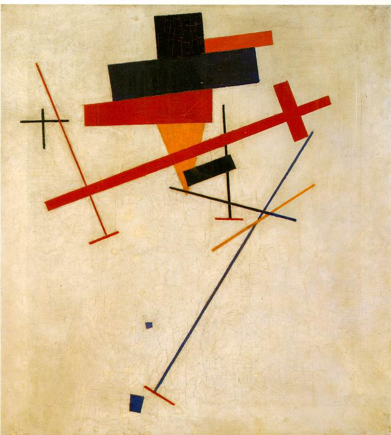Kasimir Malevich S Suprematist Painting
