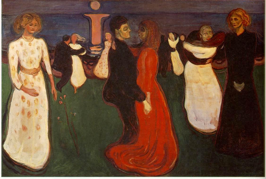 edvard munch (1863 - 1944) : çığlık Munch.dance-life