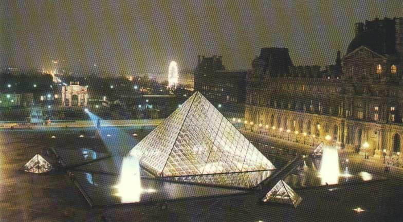 Le louvre Louvre.nuit-perspective