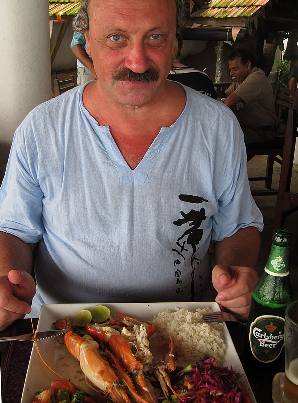 Креветки на Шри-Ланке